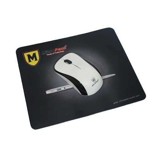 MICROPACK Wireless Mouse [MP-766W] - White/Black - Mouse Basic